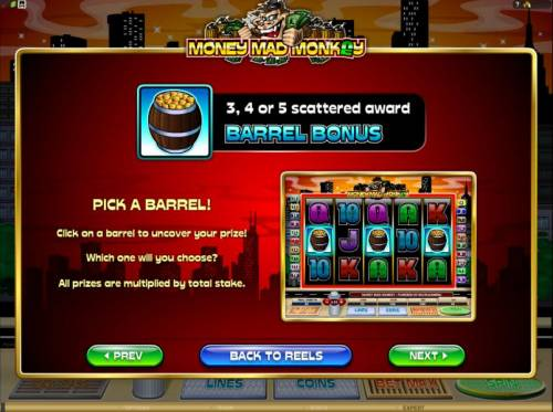 Money Mad Monkey review on Review Slots
