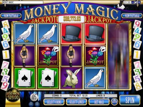 Rules of the Magic Money Slot