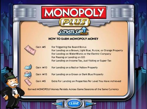 Monopoly Plus Review Slots how to earn monopoly money