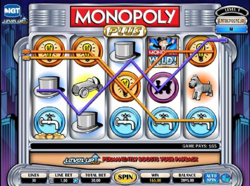 Monopoly Plus Review Slots wild combines to win 165 jackpot payout