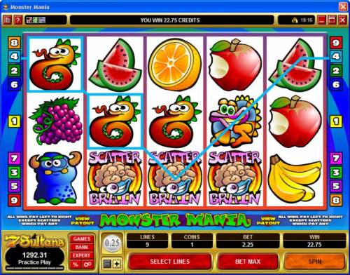 Monster Mania review on Review Slots