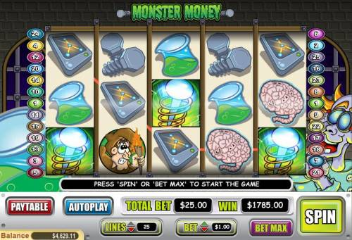 Monster Money review on Review Slots