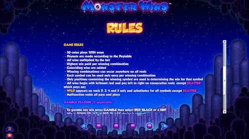 Monster Wins review on Review Slots