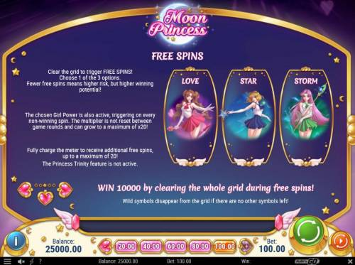 20 line along with 5 reel slot moon princess reviewed by review moon princess review slots free spins bonus rules malvernweather Images