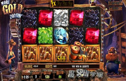 More Gold Diggin' review on Review Slots