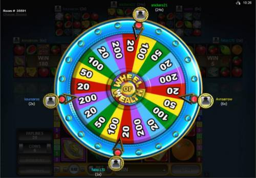 Multi-Player Wheel of Wealth Review Slots Wheel of Wealth