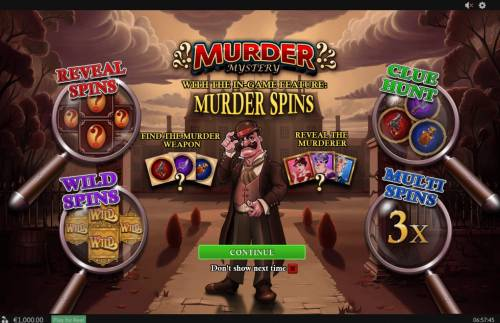 Murder Mystery Review Slots Introduction