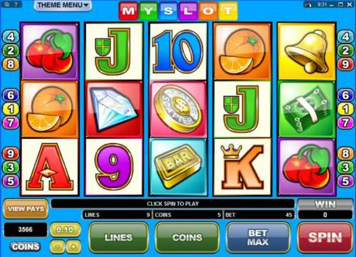 MySlot review on Review Slots