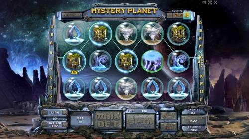 Mystery Planet Review Slots Multiple winning paylines