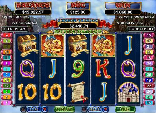 Mystic Dragon review on Review Slots