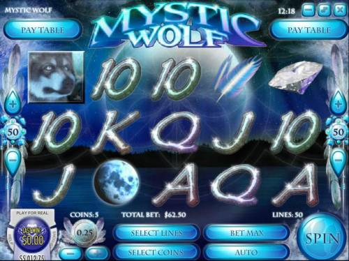 Mystic Wolf review on Review Slots