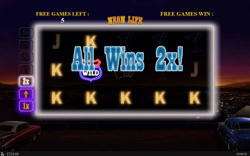 Neon Life Review Slots Multiple winning combinations