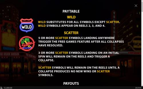 Neon Life Review Slots Wild and Scatter Symbol Rules