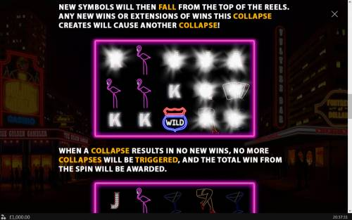 Neon Life Review Slots Cascading Reels