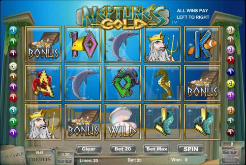 Neptunes Treasure Slot - Review and Free Online Game