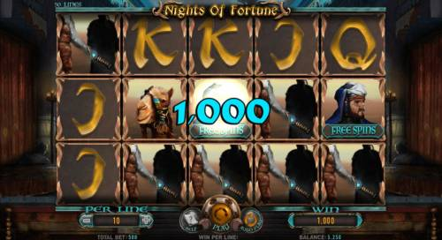 Nights of Fortune Review Slots Multiple winning paylines triggers a big win!