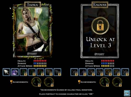 Nordic Heroes Review Slots The Ragnar character can be unlocked after level 3 acheivement.