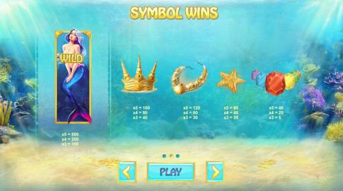 Ocean Fortune Review Slots Slot game symbols paytable.
