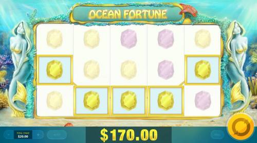 Ocean Fortune Review Slots A winning Five of a Kind.