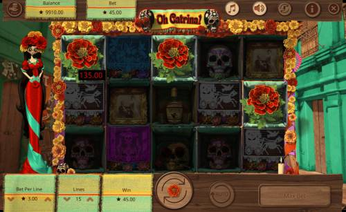 Oh Catrina Review Slots Scatter win
