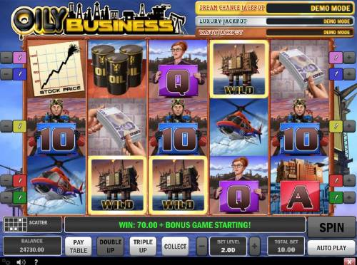 Oily Business review on Review Slots