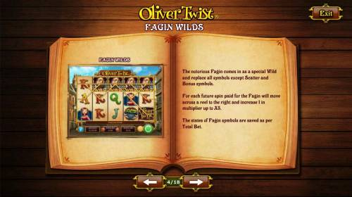 Oliver Twist Review Slots Fagin Wild Symbol Rules
