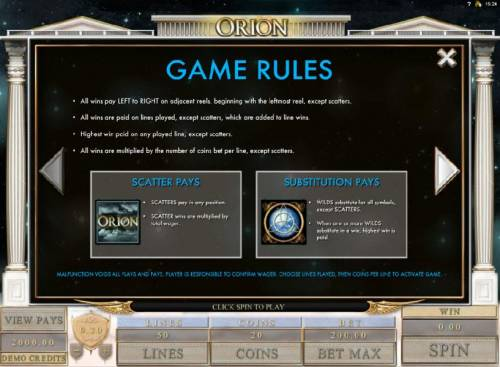 Orion review on Review Slots