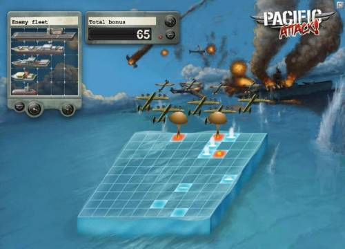 Pacific Attack Review Slots 65 coins earned after the first round