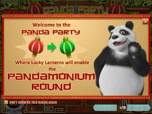 Panda Party Review Slots Welcome to Panda Party where Lucky Lanterns will enable the Pandamonium Round