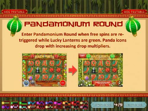 Panda Party Review Slots Three or more Lucky Lanterns enables the Pandamonium Round