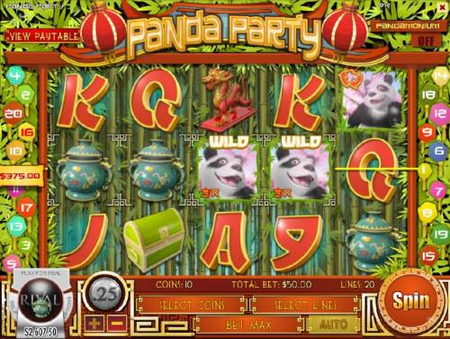 Panda Party review on Review Slots