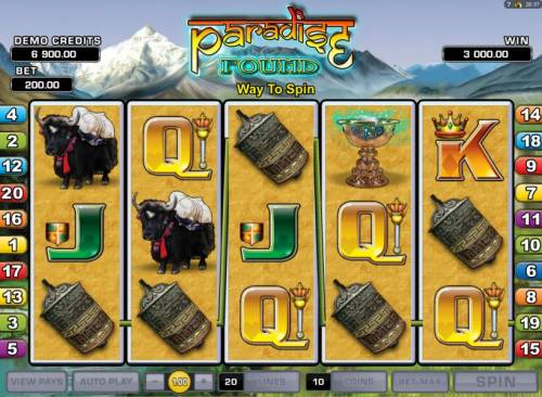 Paradise Found review on Review Slots
