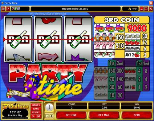 Party Time review on Review Slots