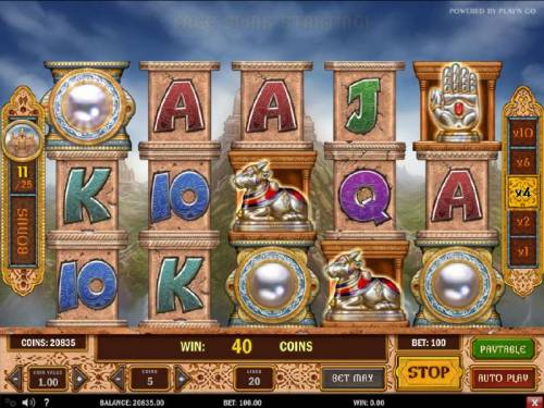 Pearls of India review on Review Slots
