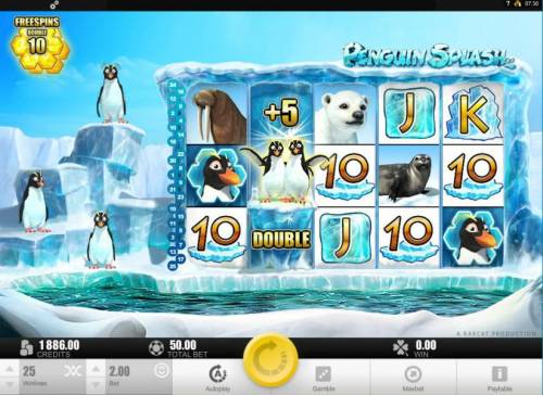 Penguin Splash review on Review Slots