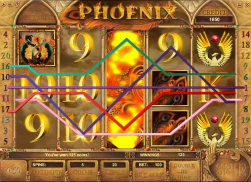 Phoenix Review Slots expanding wild triggers multiple wiing paylines for a modest jackpot