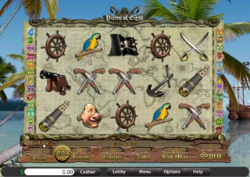 Pieces of Eight review on Review Slots