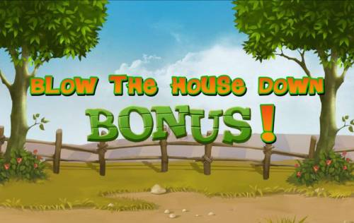 Piggies and the Wolf Review Slots Blow the House Down Bonus!