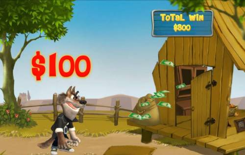 Piggies and the Wolf Review Slots The 2nd attempt to blow the wood house down failed. A $100 cash prize is awarded.