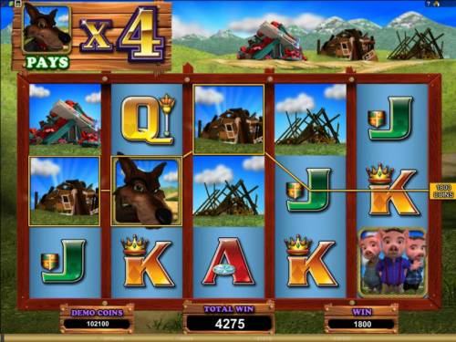Piggy Fortunes review on Review Slots