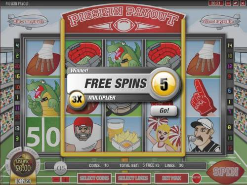 Pigskin Payout review on Review Slots