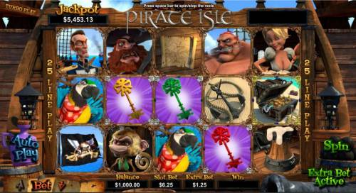 Pirate Isle review on Review Slots