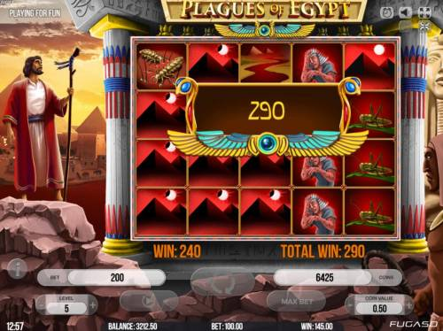 Plagues of Egypt review on Review Slots