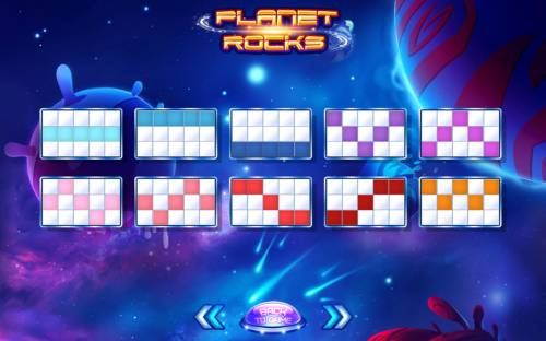 Planet Rocks Review Slots Paylines 1-10
