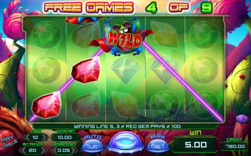 Planet Rocks Review Slots Three of a Kind