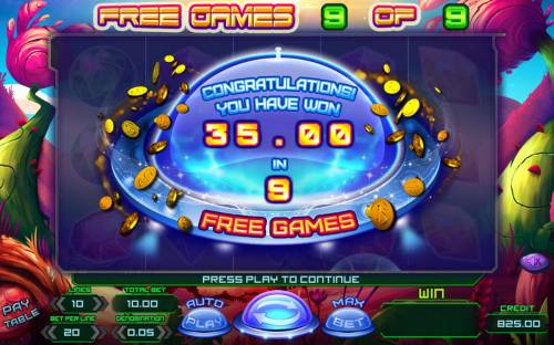 Planet Rocks Review Slots Total Free Spins Payout