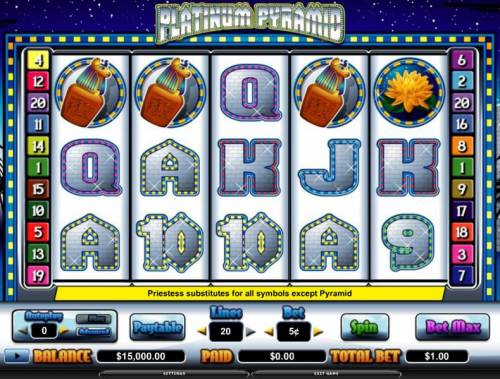 Platinum Pyramid review on Review Slots
