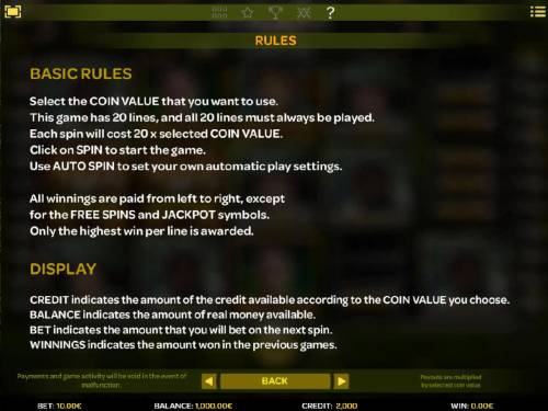 Platoon Wild Review Slots General Game Rules