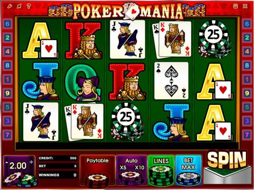 Poker Mania review on Review Slots