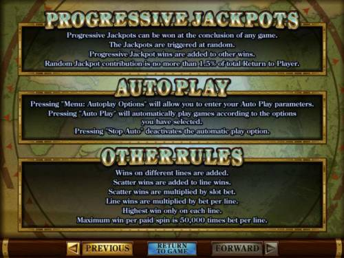 Polar Explorer Review Slots Progressive jackpots, autoplay and other game related rules